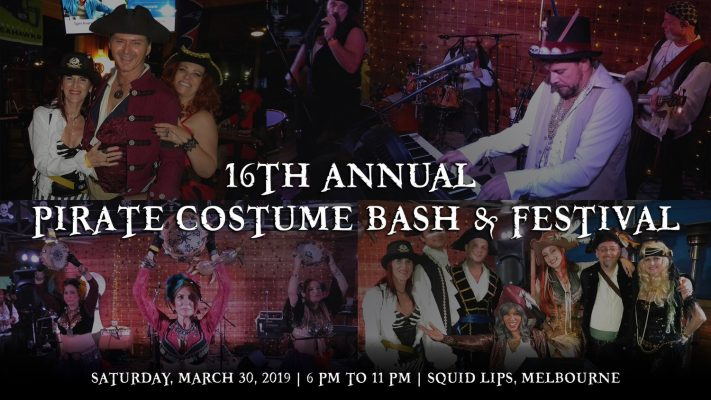 Pirate Party Costume Melbourne Florida Mad Hatter Promotions