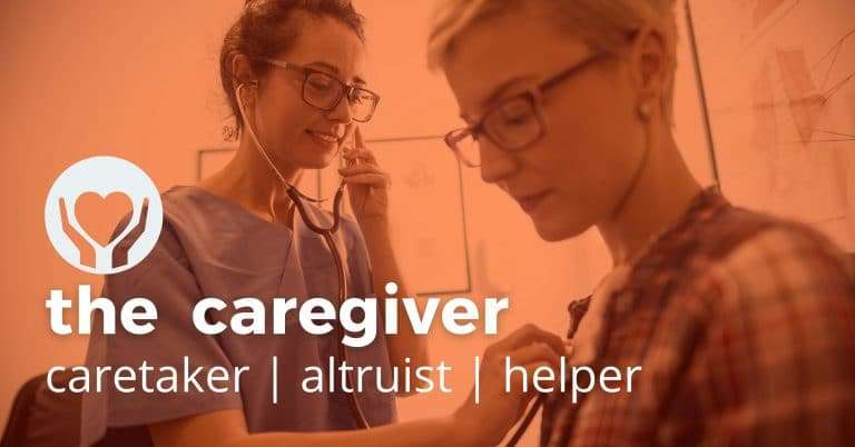caregiver brand archetype brilliant blue designs